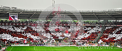 Torino Football Club Fans Editorial Stock Photo