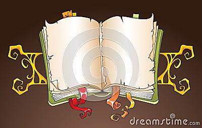 Torn book