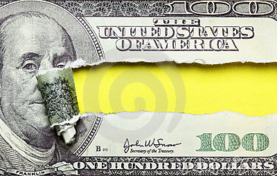 Torn dollars