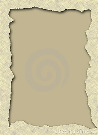 Torn Paper Frame Royalty Free Stock Photography - Image: 4484327