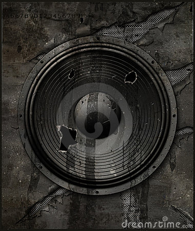 Torn up speaker