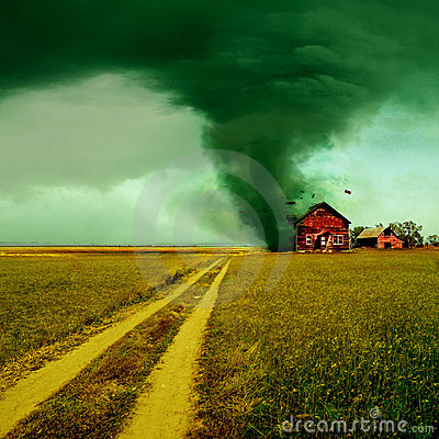 Free Tornado Stock Photography - 19336332