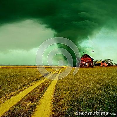 Free Tornado Stock Photography - 19336332