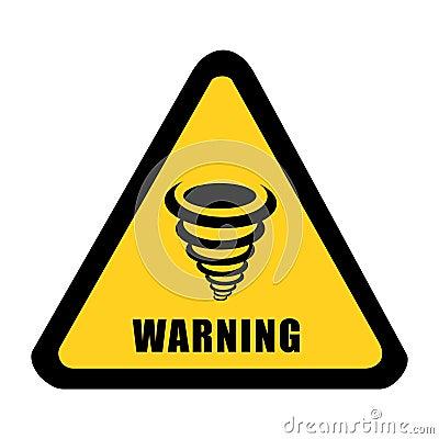 Tornado alert signal vector