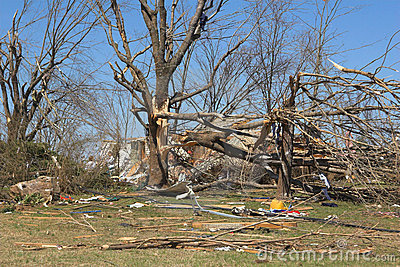 Tornado damage ky 3