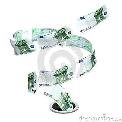 Tornado euro to drain
