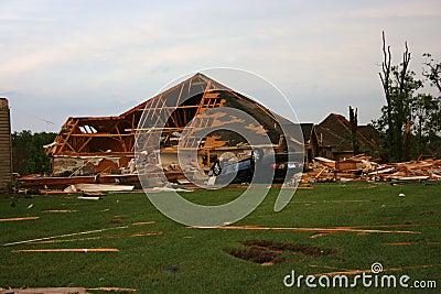 Tornado in Joplin Mo Sun May 22, 2011 Editorial Stock Photo