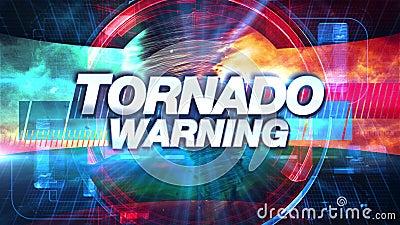 Tornado Warnung
