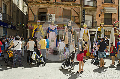 TORO (ZAMORA), SPAIN – AUGUST 25, 2012: Editorial Photo