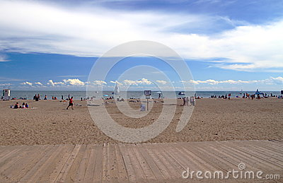 Toronto Beaches Editorial Stock Image