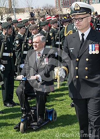 Toronto Bicentennial Commemoration of the Battle of York Editorial Photo