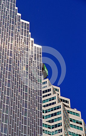 Toronto Brookfileld Place Pomplex Editorial Stock Photo