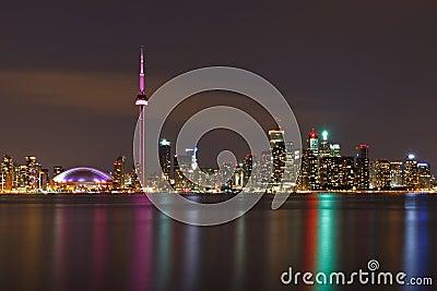 Toronto Canada, nightscape