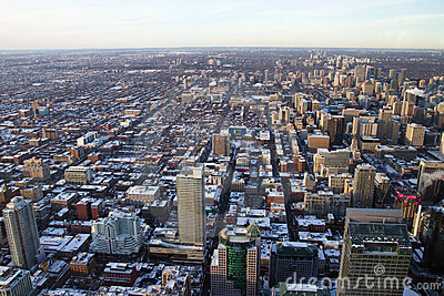 Toronto City from Above