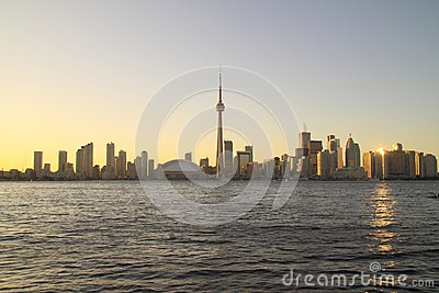 Toronto Cityscape from Central Island