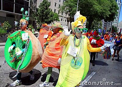 Toronto Gay Pride Parade 2011 Editorial Photography