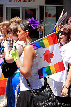 Toronto Gay Pride Parade 2011 Editorial Image
