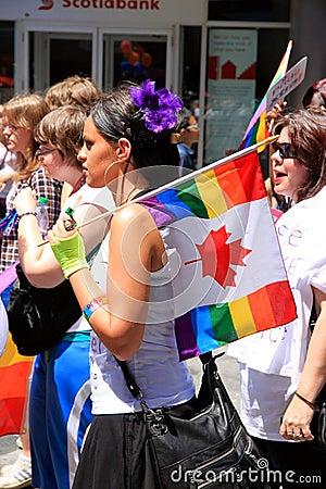 Toronto Gay Pride Parade 2011 Editorial Image