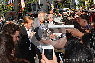 2013 Toronto International Film Festival Editorial Stock Image