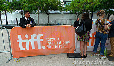 Toronto International Film Festival star spot zone Editorial Photography