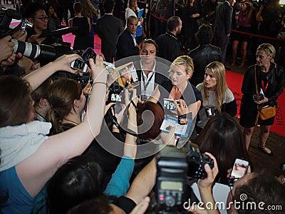 Toronto Internationalfilmfestival 2013 Redaktionell Arkivfoto