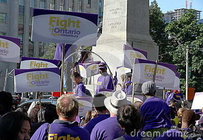 Toronto Labor Day Parade Editorial Image