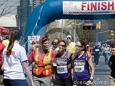 Toronto Marathon Editorial Image