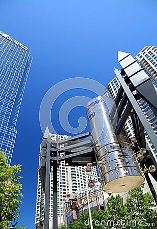 Toronto Modern Buildings Editorial Photography