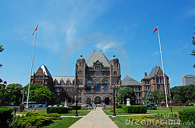Toronto - Ontario Legislature Building