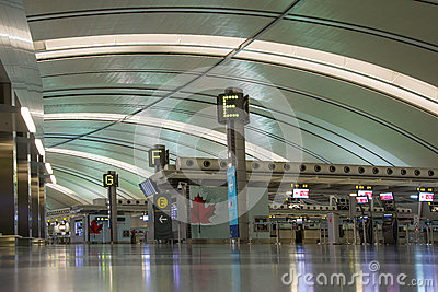 Toronto Pearson International Airport Editorial Photo