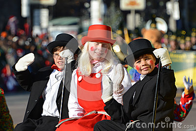 Toronto s 108th Santa Claus Parade Editorial Stock Image