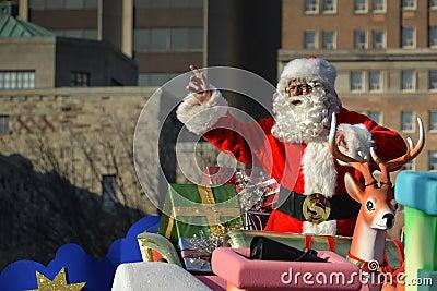Toronto s 108th Santa Claus Parade Editorial Photography