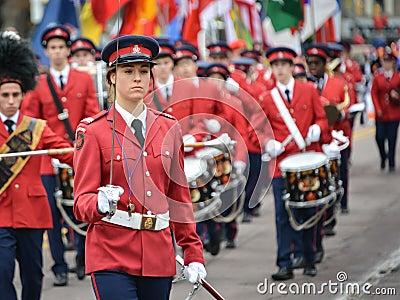 2013 Toronto Santa Claus Parade Editorial Stock Photo