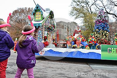 2013 Toronto Santa Claus Parade Editorial Stock Photo