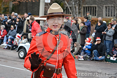2013 Toronto Santa Claus Parade Editorial Stock Image