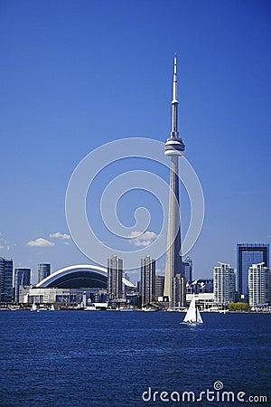 Toronto skyline Editorial Stock Photo