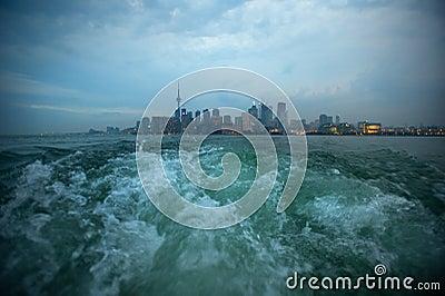Toronto skyline - Stock Image