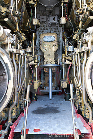 Torpedo room section of TCG Canakkale (S-341) Editorial Stock Photo