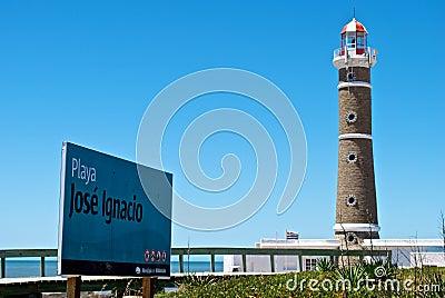 Torre clara de Playa José Ignacio