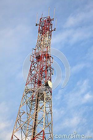 Torre de antena de rádio