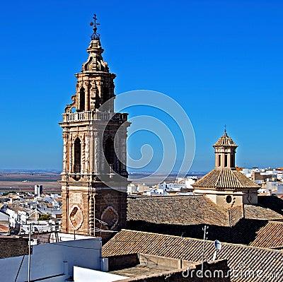 Torre de la Merced, Osuna, Spain.