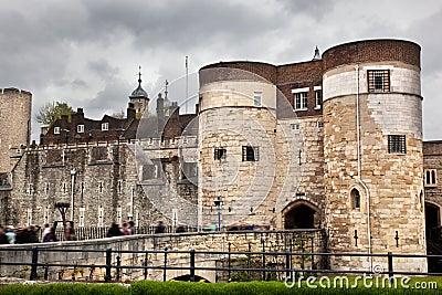 A torre de Londres, o Reino Unido. Royal Palace histórico