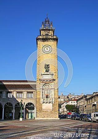 Torre dei Caduti, Bergamo, Italy