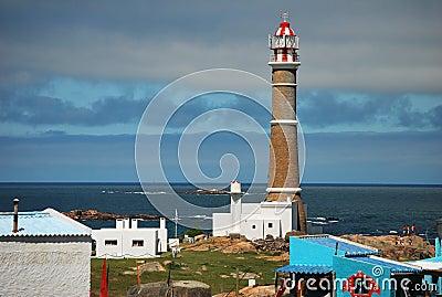 Torre del faro de Cabo Polonio