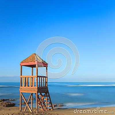 Torre della spiaggia del baywatch o del bagnino cabina o for Animali domestici della cabina di nashville