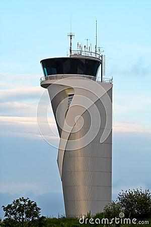 Torre do controlador aéreo