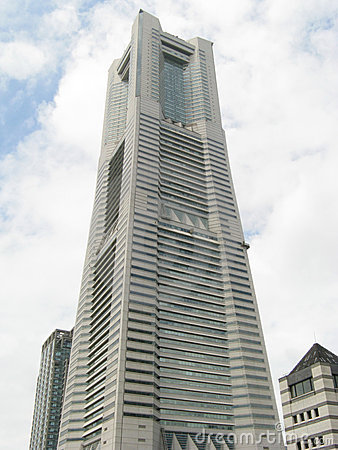 Torre do marco de Yokohama