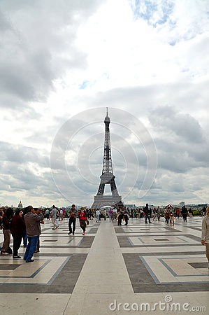 Torre Eiffel Fotografía editorial