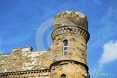 Torre no castelo de Culzean
