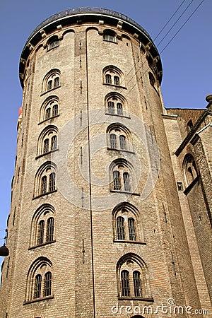 A torre redonda. Copenhaga, Dinamarca